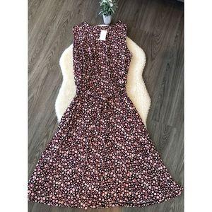 NWT Charter Club Plus A Line Floral Dress 2X